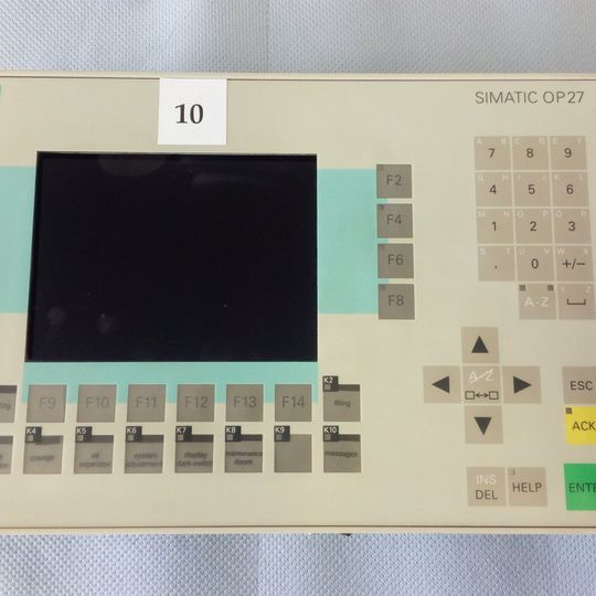 Siemens Simatic OP27 panel
